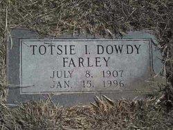 Totsie Irene Dowdy