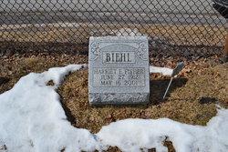 Harriet E <i>Fisher</i> Biehl