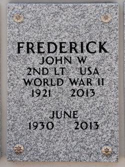 June Ann <i>Warner</i> Frederick