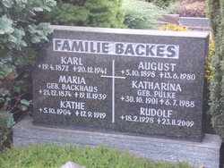 Maria <i>Backhaus</i> Backes