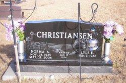 Norma A. <i>Johnson</i> Christiansen