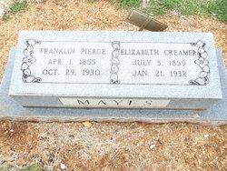Elizabeth Jane <i>Creamer</i> Mayes