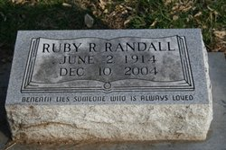 Ruby R <i>Songer</i> Randall