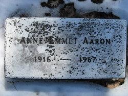 Anna P Aaron