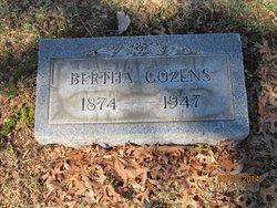 Bertha <i>Van Sickle</i> Cozens