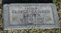 George Gaylor Brown