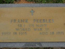 Frank Peebles