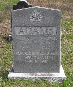 Pauline <i>Weber</i> Adams