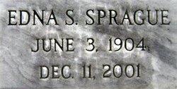 Edna S <i>Billings</i> Sprague