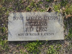 Dovie <i>Landers</i> Atkison