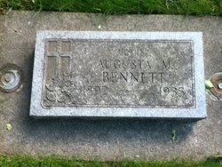 Augusta M Bennett