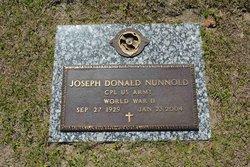 Joseph Donald Nunnold