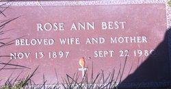 Rose Ann Best