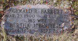 Bertha B <i>Boutelle</i> Barrett