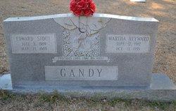 Martha <i>Heyward</i> Gandy