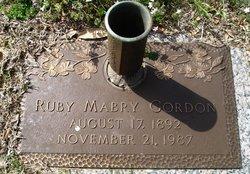 Ruby Barton <i>Mabry</i> Gordon