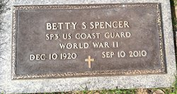 Betty Marie <i>Sternes</i> Spencer