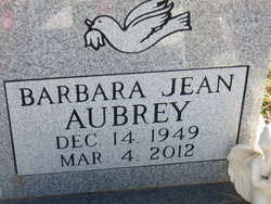 Barbara Jean Aubrey