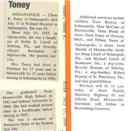 Chere K <i>Buchanan</i> Toney