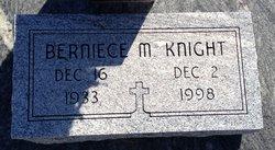 Berniece <i>McMillan</i> Knight