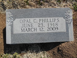 Opal Claire <i>Robinson</i> Phillips