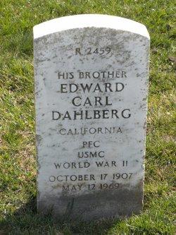 Edward Carl Dahlberg