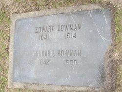 Sarah L. <i>Keeler</i> Bowman