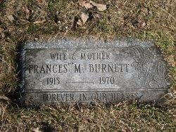 Frances M. <i>Pawlik</i> Burnett