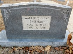Walter Shack Freeman