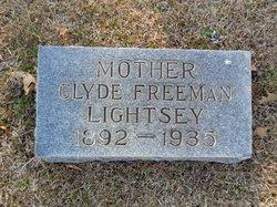 Clyde <i>Freeman</i> Lightsey