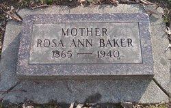 Rosie Ann <i>Mitchell</i> Baker