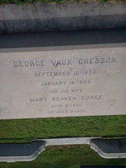 Mary Beavan <i>Cooke</i> Cresson