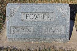 Anne Jane Fowler