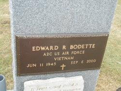 Edward R Bodette