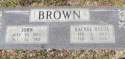 Rachel <i>House</i> Brown