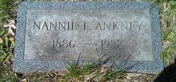 Nannie E Ankney