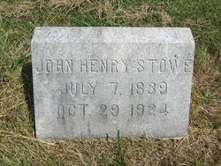 John Henry Stowe