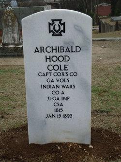 Archibald Hood Cole