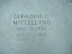 Geraldine <i>Chambless</i> McClelland