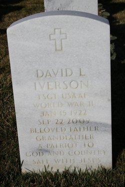 Sgt David L Iverson