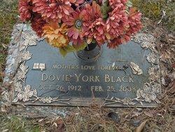 Dovie <i>York</i> Black