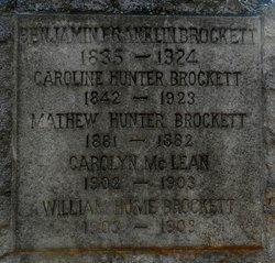 Mathew Hunter Brockett