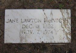 Jane <i>Lawton</i> McIntosh