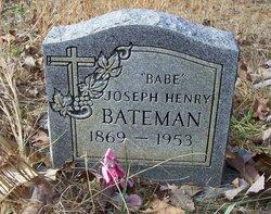 Joseph Henry Babe Bateman, Jr