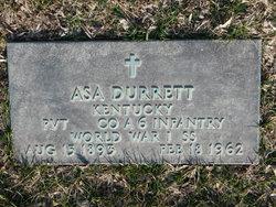 Asa Durrett