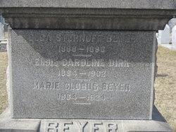 Marie M A <i>Clobus</i> Beyer