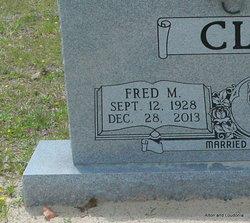 Rev Fred Marshall Clem