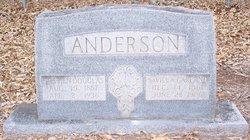 Savilla <i>Garland</i> Anderson