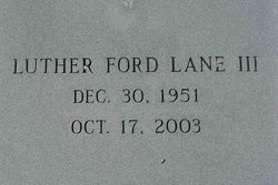 Luther Ford Lane, III