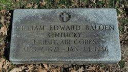 William Edward Balden